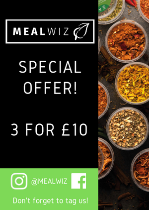 SPECIAL OFFER! 3 SEASONINGS FOR THE PRICE OF £10