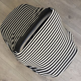 NuMoo baby cover - grey and black