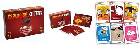 Exploding Kittens Card Games for Teens