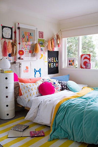 Art Gallery Tween to Teen Bedroom Ideas
