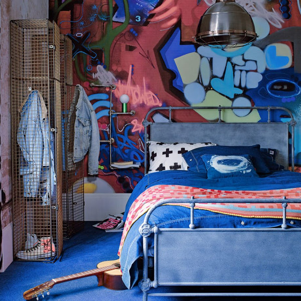 Street Art Bedroom Ideas