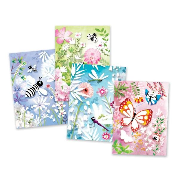 DJECO Glitter Boards - Butterflies