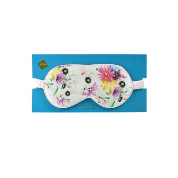 Silky Sleep Mask - Cactus Flower