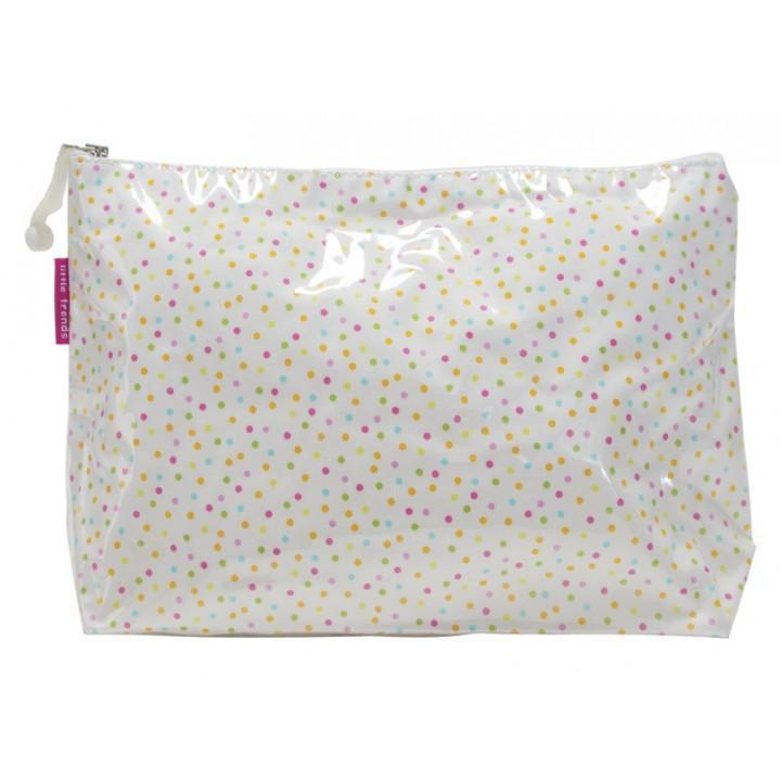 Annabel Trends Cosmetic & Toiletry Bags Large Dotty Cosmetic Bag - Multiple Sizes tween and teen