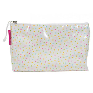 Annabel Trends Cosmetic & Toiletry Bags Small Dotty Cosmetic Bag - Multiple Sizes tween and teen