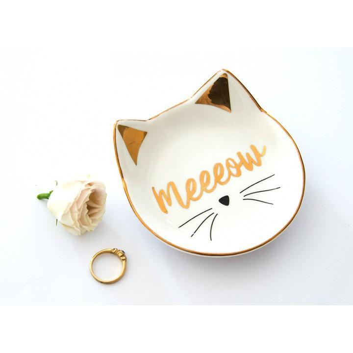 Annabel Trends Jewellery Holders Trinket Dish - Meow! tween and teen