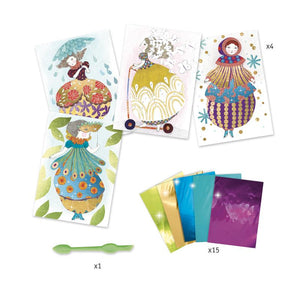 Djeco Art and Craft Kits DJECO Foil Pictures - So Pretty tween and teen