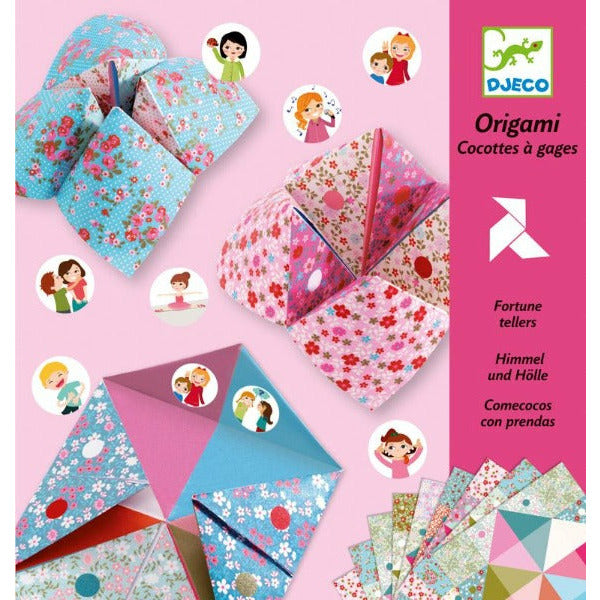 Djeco Art and Craft Kits DJECO Fortune Teller Origami tween and teen