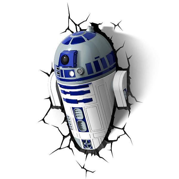 Star Wars - R2D2 3D Wall Light
