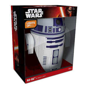 Tween to Teen Night Lights & Ambient Lighting Star Wars - R2D2 3D Wall Light 816733020631 tween and teen