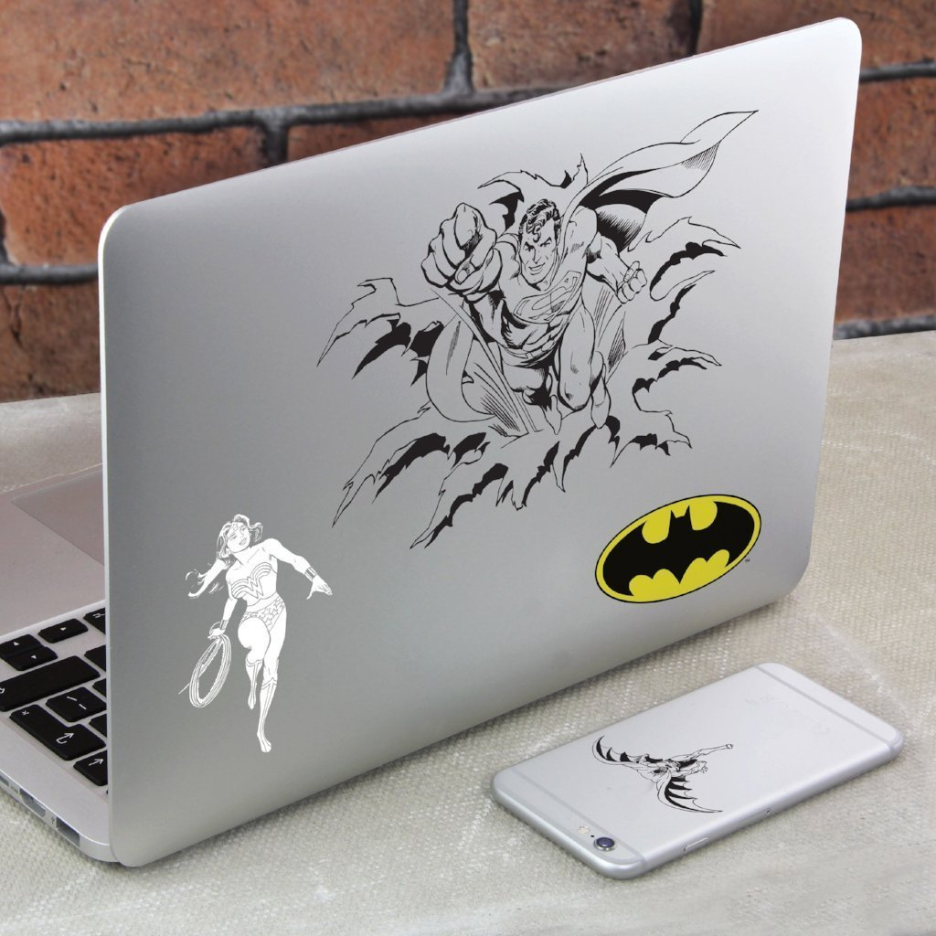 IS Gifts Electronics Stickers & Decals Removable DC Comics Gadget Decals 5055964700645 tween and teen