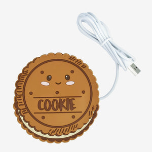 Legami Beverage Warmers Warm it Up - Cute Cookie USB Mug Warmer tween and teen