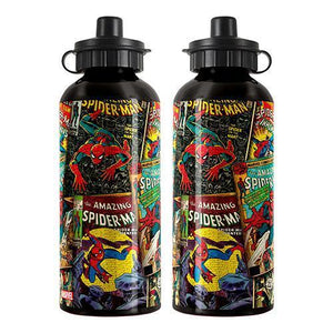 Marvel Water Bottles Marvel Comics Aluminium Drink Bottle 9314783408078 tween and teen