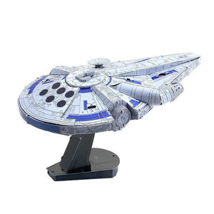 Metal Earth Scale Model Kits Metal Earth Star Wars Lando's Millennium Falcon 032309001303 tween and teen