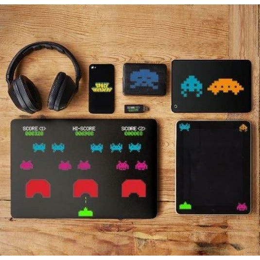 Paladone Electronics Stickers & Decals Space Invaders Gadget Decals tween and teen