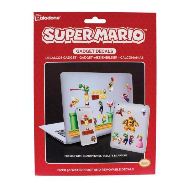 Paladone Electronics Stickers & Decals Super Mario Gadget Decals tween and teen