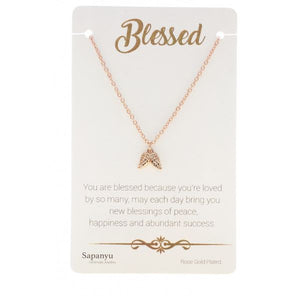 Blessed - Sentiment Necklace