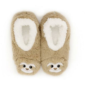 Splosh Slippers Medium Slumbies Furry Sloth Slippers tween and teen