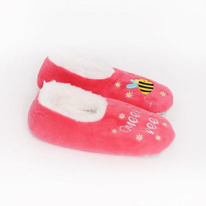 Splosh Slippers Medium Slumbies Queen Bee Slippers tween and teen