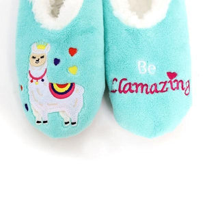 Splosh Slippers Small Slumbies Llamazing Slippers tween and teen