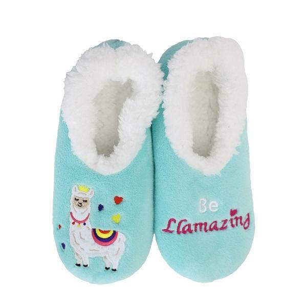Slumbies Llamazing Slippers