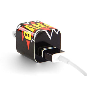 Tech Tattz Accessories Bang Skins for iPhone Chargers 0720252999371 tween and teen