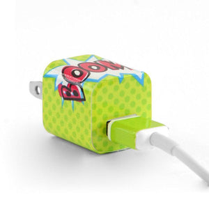 Tech Tattz Accessories Boom Skins for iPhone Chargers 0720252999418 tween and teen