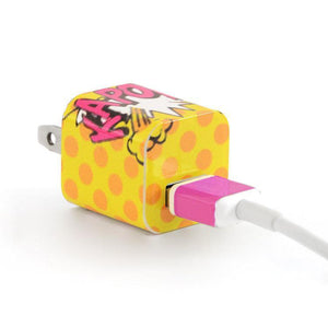 Tech Tattz Accessories Kapow Skins for iPhone Chargers 0720252999388 tween and teen