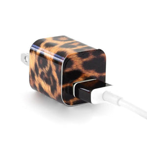 Tech Tattz Accessories Leopard Print Skins for iPhone Chargers 0720252999425 tween and teen