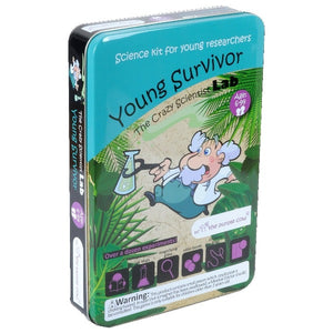 The Purple Cow Educational Games Science Kits: Young Survivor tween and teen