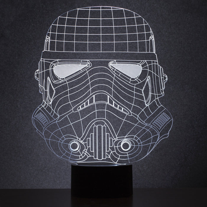 Stormtrooper Wireframe Light
