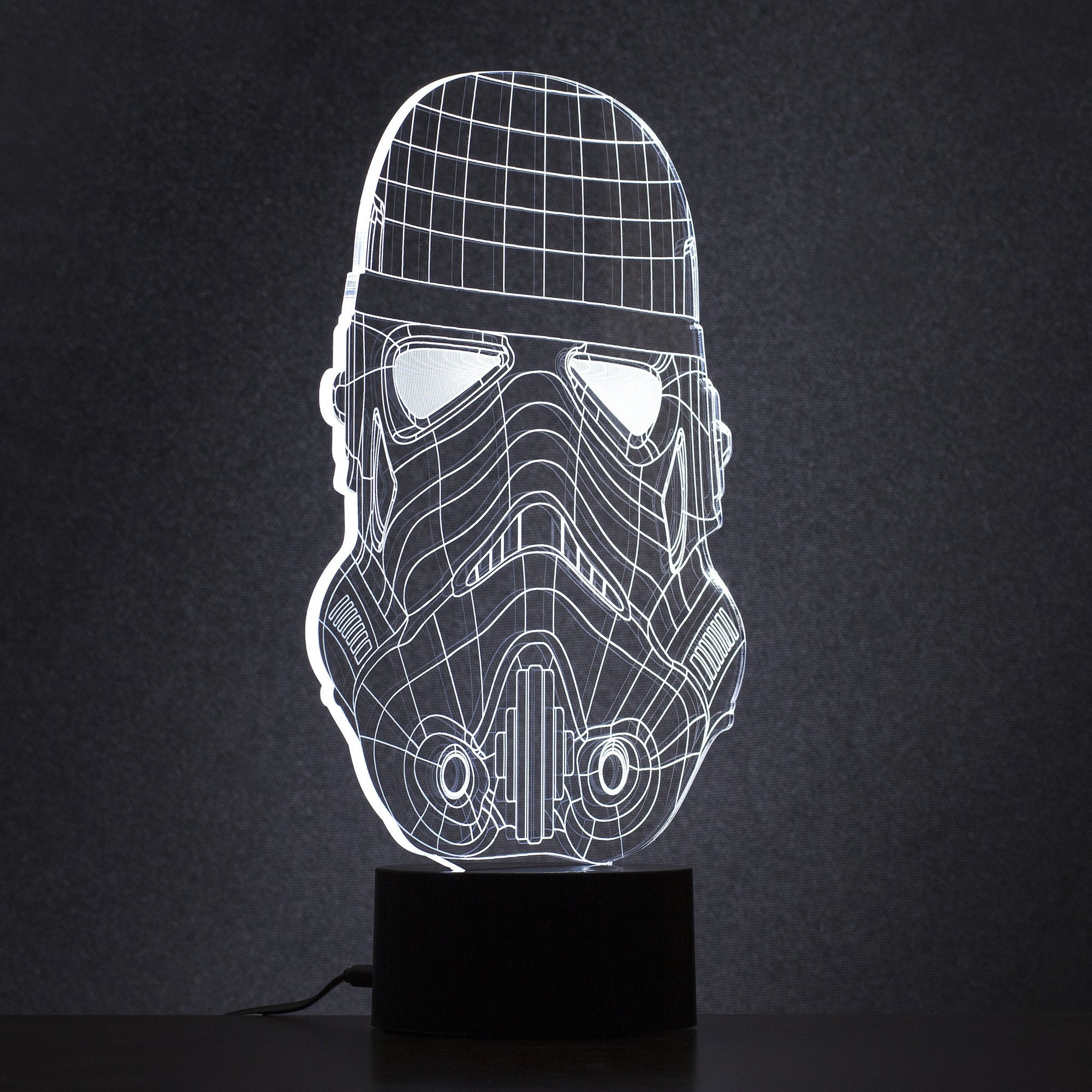 Thumbs Up UK Tech Stormtrooper Wireframe Light 5060407529684 tween and teen