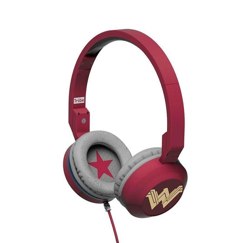 Tribe Headphone & Headset DC Comics Wonder Woman Foldable Wired Headphones 8054392658853 tween and teen