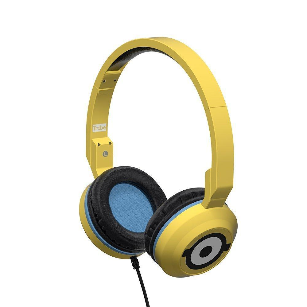 Tribe Headphone & Headset Despicable Me Minions Carl Foldable Wired Headphones with Mic 8057733134726 tween and teen