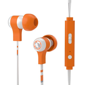 Tribe Headphone & Headset Star Wars BB8 Wired Swing Earphones with Remote and Mic 8054392654008 tween and teen