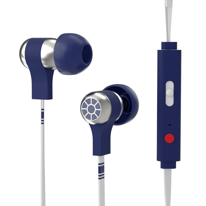 Star Wars R2D2 Wired Swing Earphones with Remote and Mic