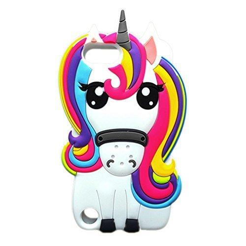 Tween to Teen Mobile Phone Cases iPhone 6/6S Unicorn Silicone Phone Cover 0720252999067 tween and teen