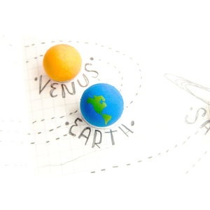 Until HQ Erasers Solar System Eraser Set tween and teen