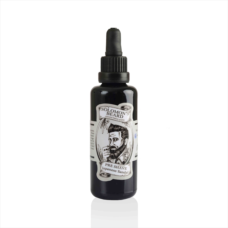 Solomon's Beard - Huile de Barbe - Black Pepper 50ml