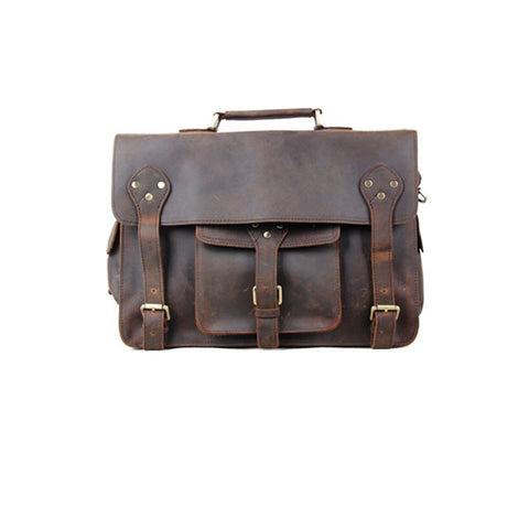 Defender Genuine Leather Briefcase
