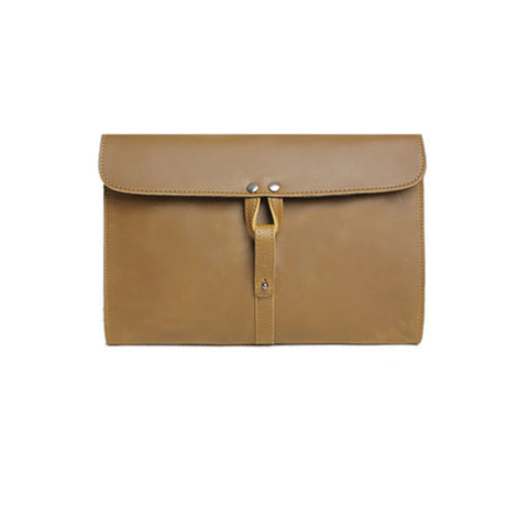 Harper Clutch Leather Bag Men/Women