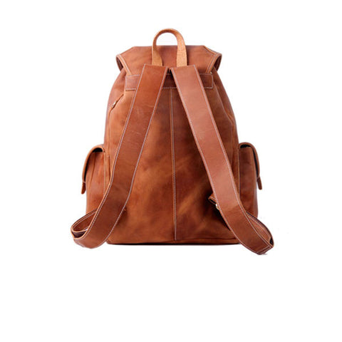 Jerome Light Brown Backpack