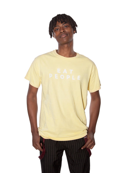 Yellow EAT PEOPLE T-Shirt