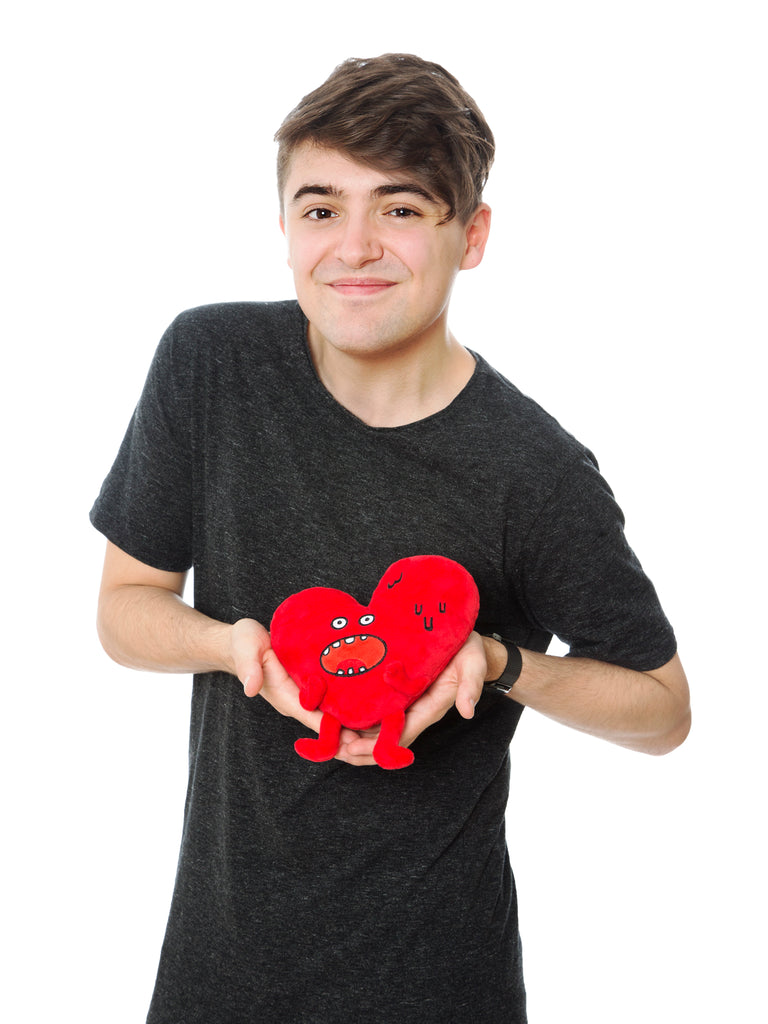 Heart Guy Plushie