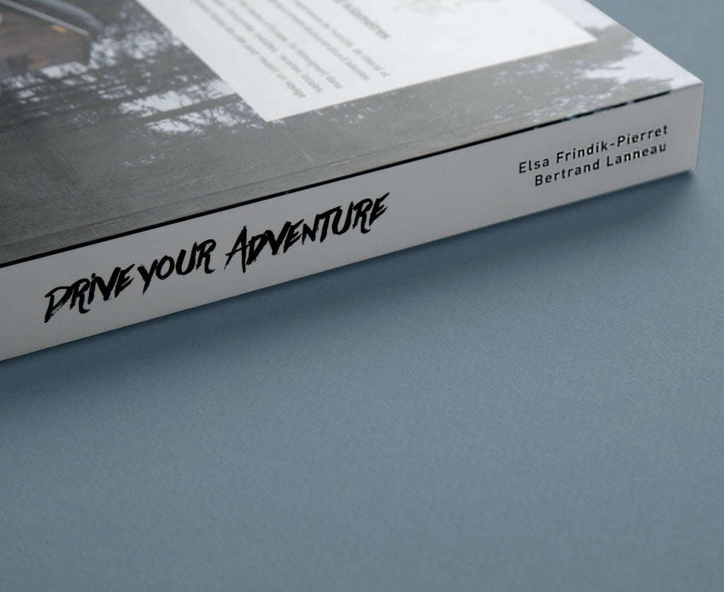1 exemplaire de « Drive Your Adventure » - 320 pages