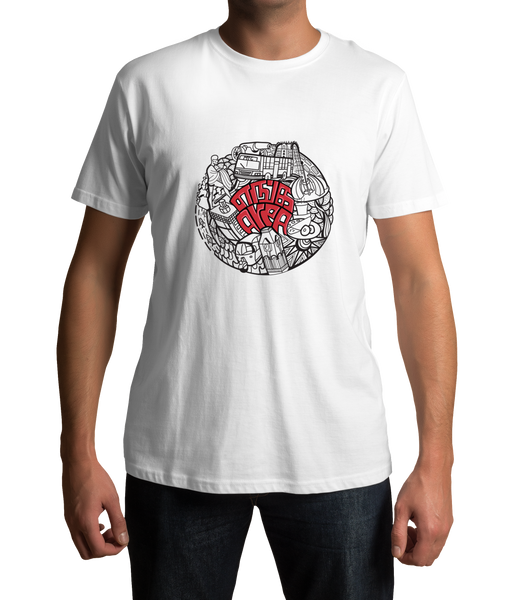 Enga Area ( White Edition ) Tamil t-shirt