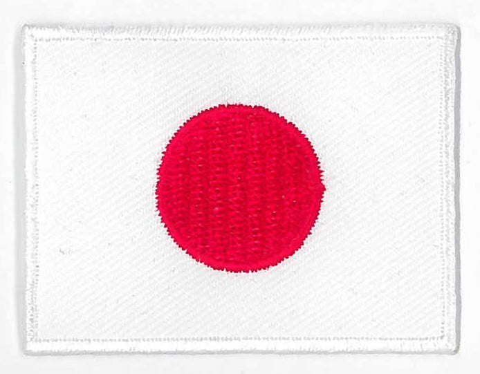 Tygmärke Flagga Japan