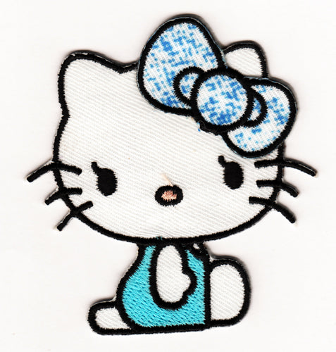 Hello Kitty Broderat tygmärke