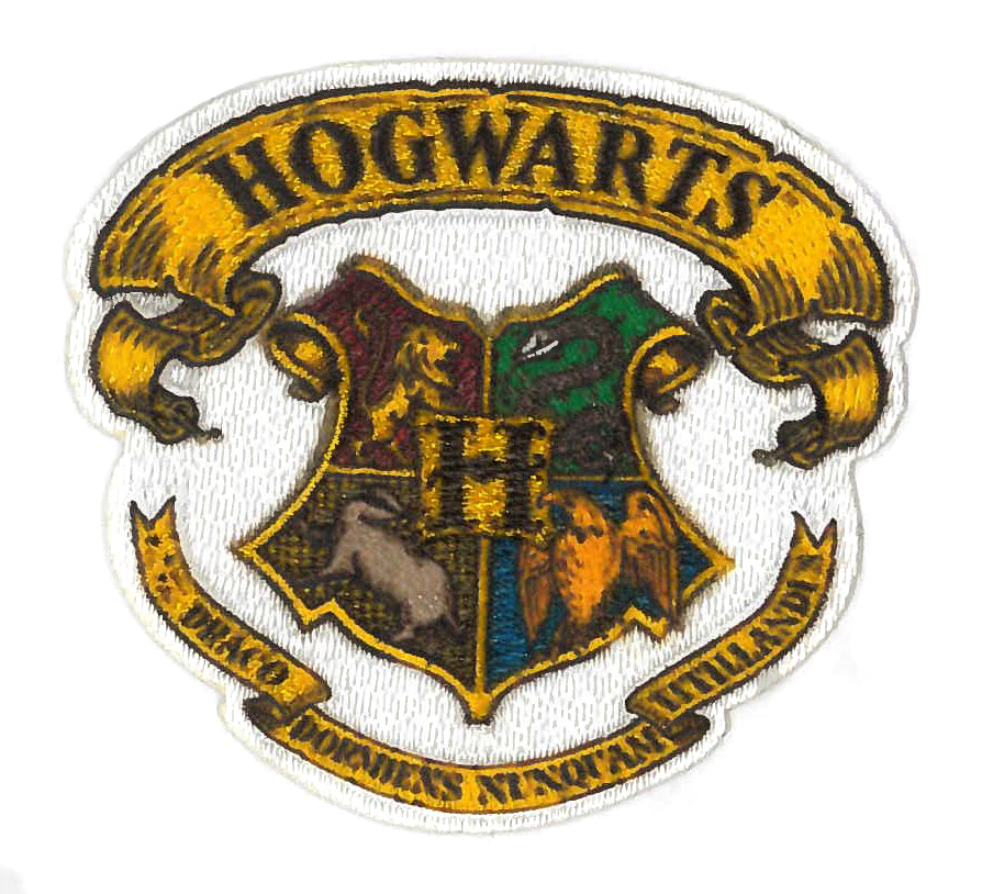 Hogwarts Harry Potter tygmärke