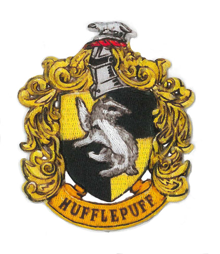 Hufflepuff Harry Potter tygmärke
